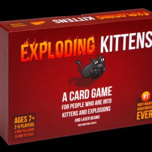 Exploding KITTENS - JOUE ATOUT