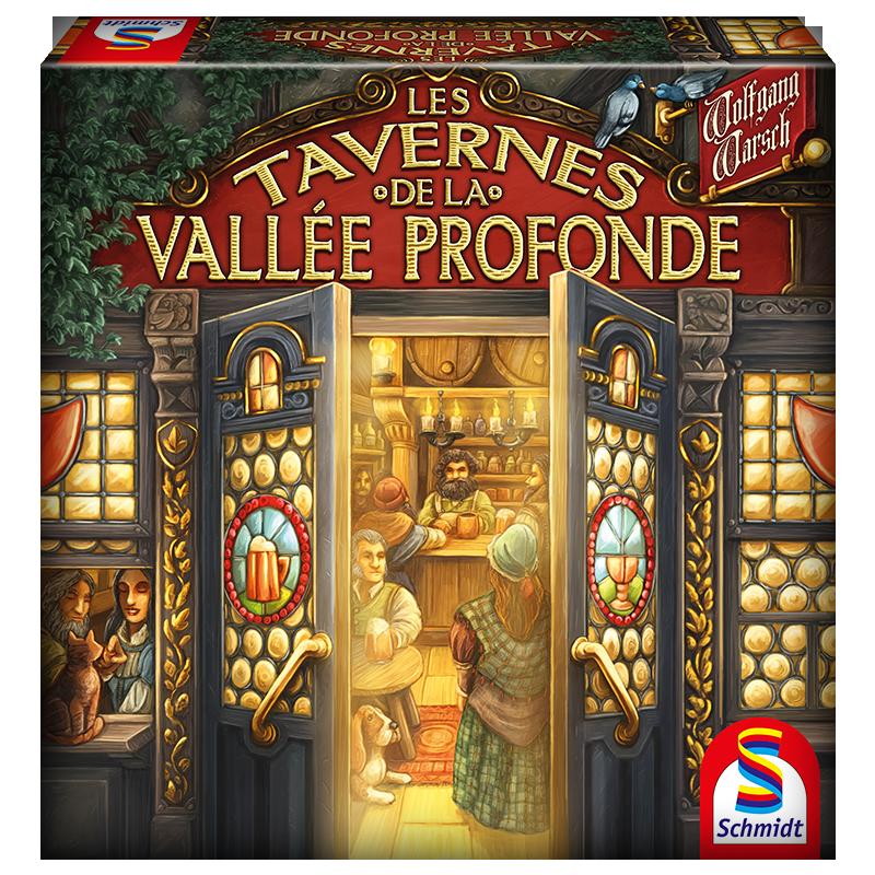 Les tavernes de la vallée profonde - JOUE ATOUT
